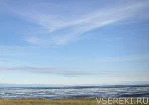 Отлив на Белом море