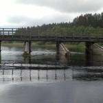 Мост через реку Уща