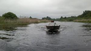 Река Уща, российско-белорусский рейд