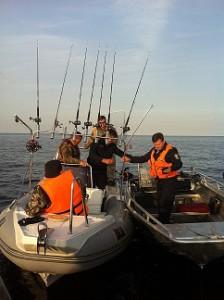 Рыбоохрана на Ладожском озере. Фото СЗТУ.