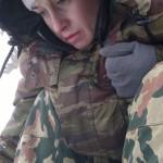 Оксана Михайлова - рыбалка на Чудском озере