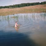 Отдых на реке Иртыш (Елена Кузнецова)