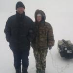 Рыбаки на Чудском озере