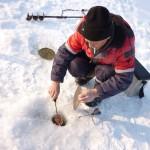 Подготовка к ловле на реке Оскол