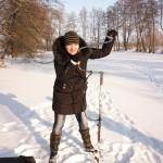 Учусь бурить лунки, Елена Косолапова (Гусак)